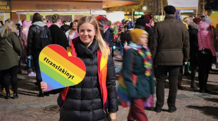 Jenni Aikio Mikkeli Pridessa