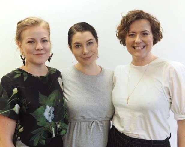 Jenni Aikio, Emma Kari ja Laura Ala-Kokko